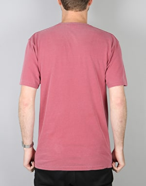 Stüssy University T-Shirt - Burgundy