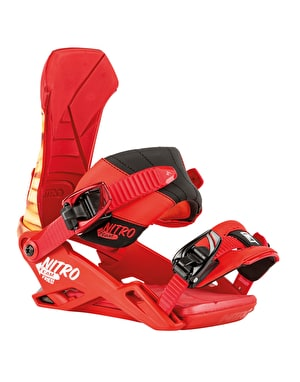 Nitro The Team 2016 Snowboard Bindings - Supersize