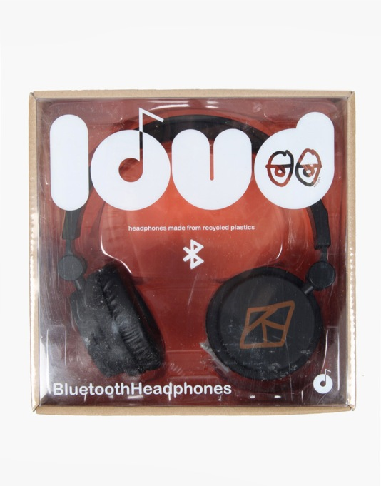 Loud x Krooked Bluetooth Headphones - Black