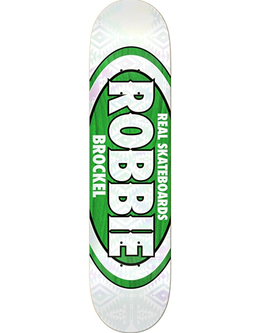 Real Brockel Pro Oval Pro Deck - 8.25""