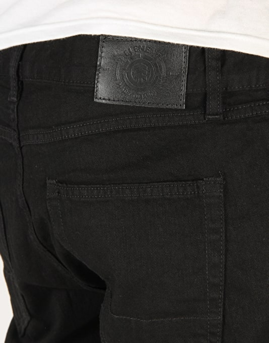 Element Owen Denim Jeans - Black Rinse