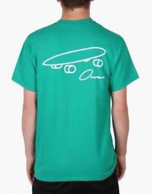 Route One Plank T-Shirt - Kelly Green