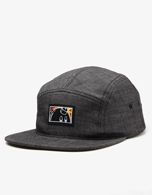 The Hundreds Dips 5 Panel Cap - Black