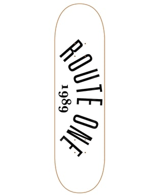 Route One Arch Logo Skateboard Deck - 8