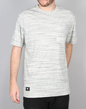 LRG All Natural S/S Knit T-Shirt - Charcoal Heather