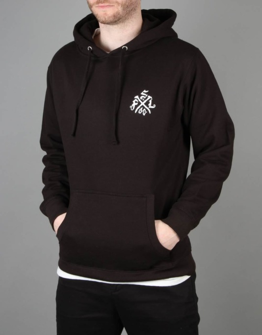 Scarred For Life Mindskull Pullover Hoodie - Black
