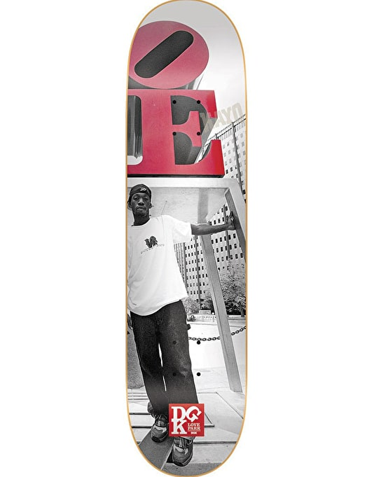DGK x Mike Blabac Love Park '99 Team Deck - 8.1""