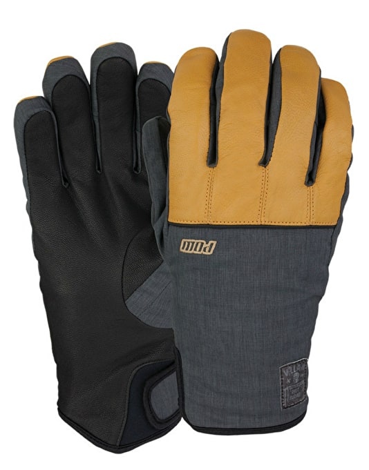 Pow Villain 2016 Snowboard Gloves - Natural