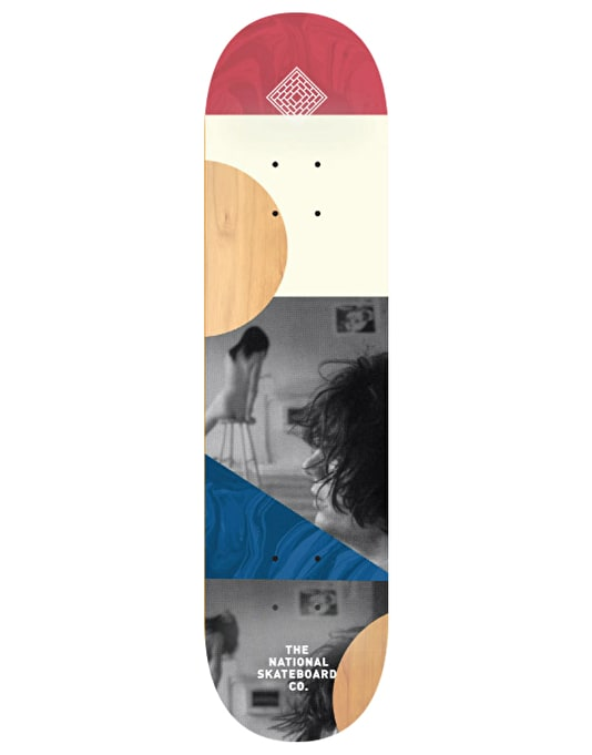 The National Skateboard Co. -SB- Team Deck - 8""