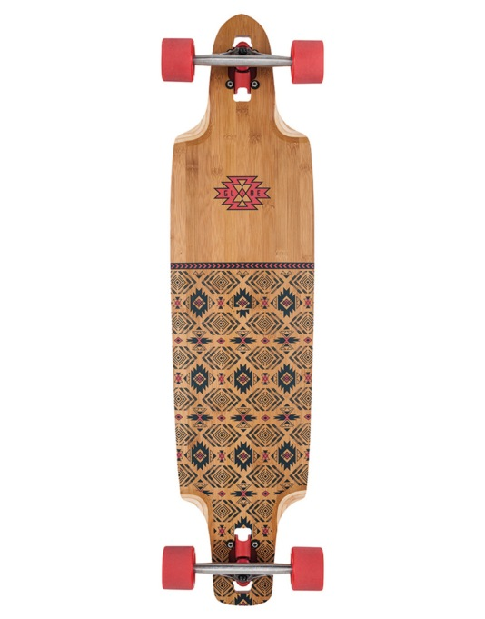 "Globe Spearpoint Drop Down Longboard - 40"" x 9.875"""