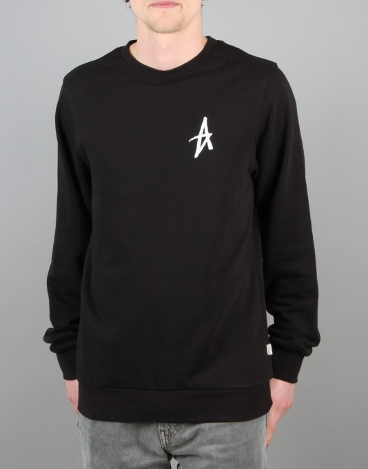 Altamont Icon Crew Fleece - Black