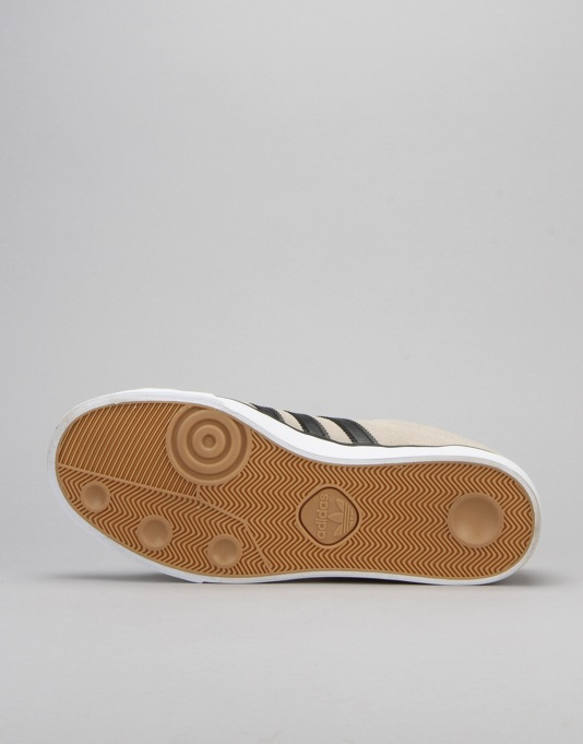 Adidas Campus Vulc II Skate Shoes - Mist Stone/Core Black/Gold Met