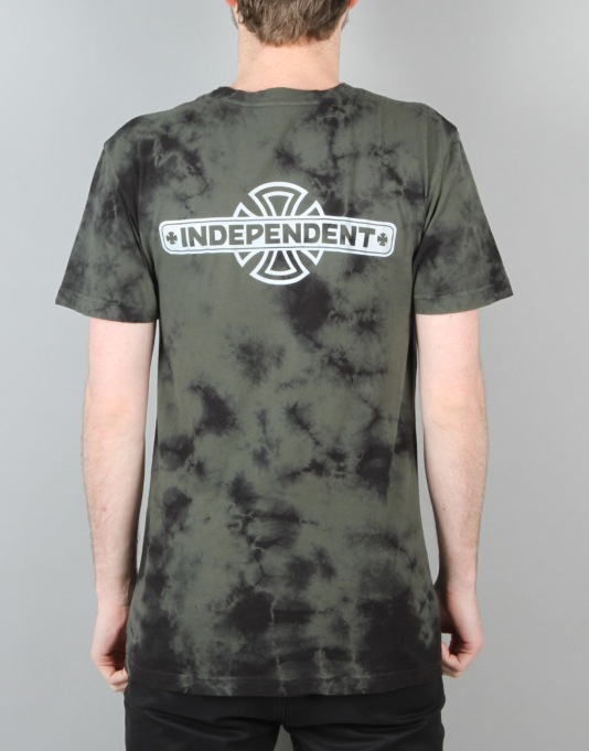 Emerica x Independent S/S T-Shirt - Dark Green