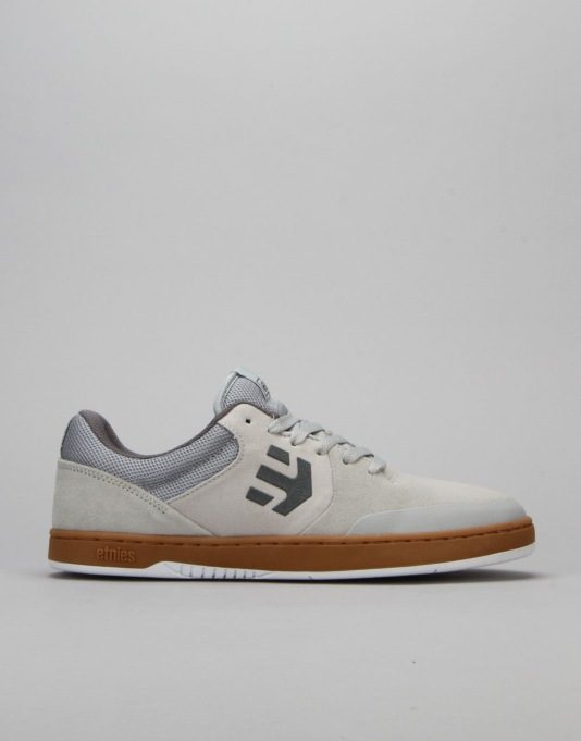Etnies Marana Skate Shoes - Light Grey