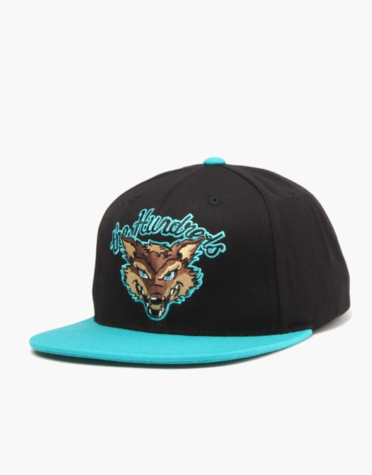 The Hundreds Scavenger Snapback Cap - Black