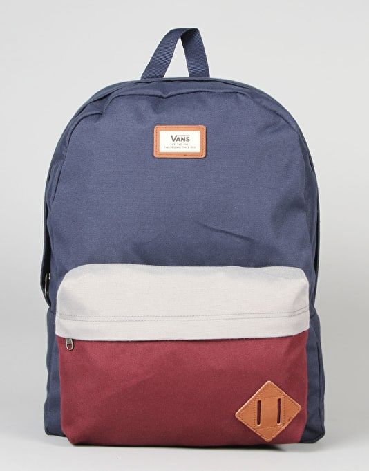 Vans Old Skool II Backpack - Port Royale Colourblock