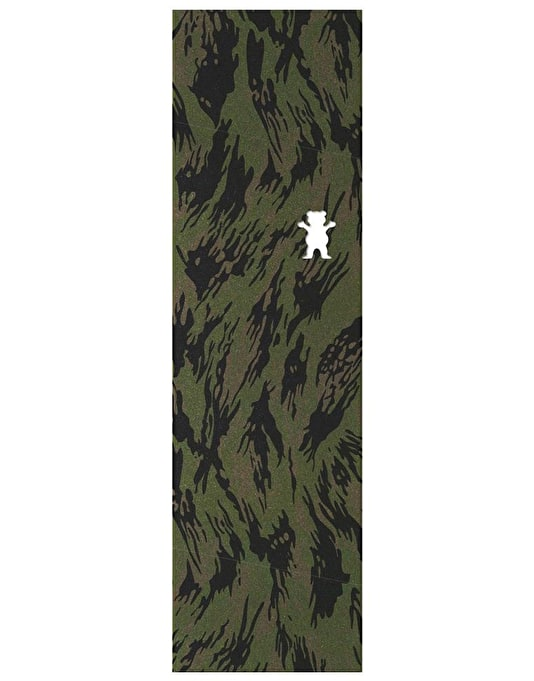 "Grizzly Appleyard Camo Die Cut Bear Pro 9"" Grip Tape Sheet"