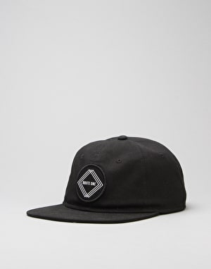 Route One Triple OG 6 Panel Cap - Black