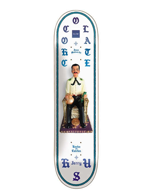 Chocolate Hsu Saints Pro Deck - 8""