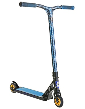Grit Elite 2016 Scooter - Black/Laser Blue Silver