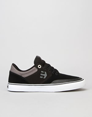 Etnies Marana Vulc Skate Shoes - Black/Grey/White
