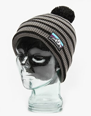 Spacecraft Rainer Pom Beanie - Dark Grey