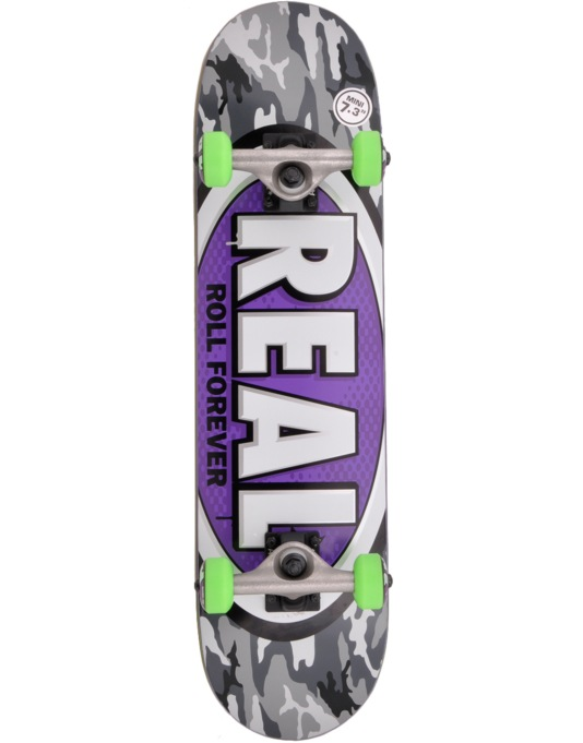 Real AWOL Oval Mini Complete Skateboard - 7.3""