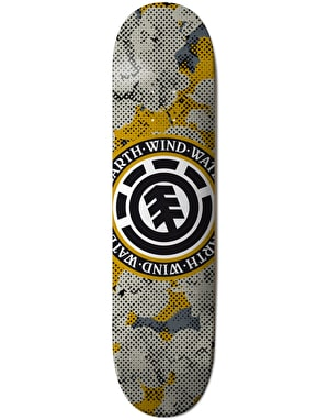 Element Seal Pop Camo Featherlight Skateboard Deck - 8