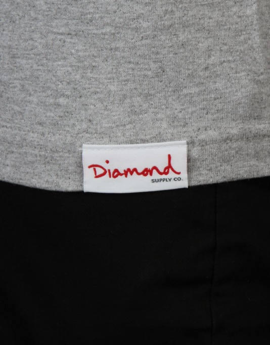 Diamond Supply Co. Dealer T-Shirt - Grey