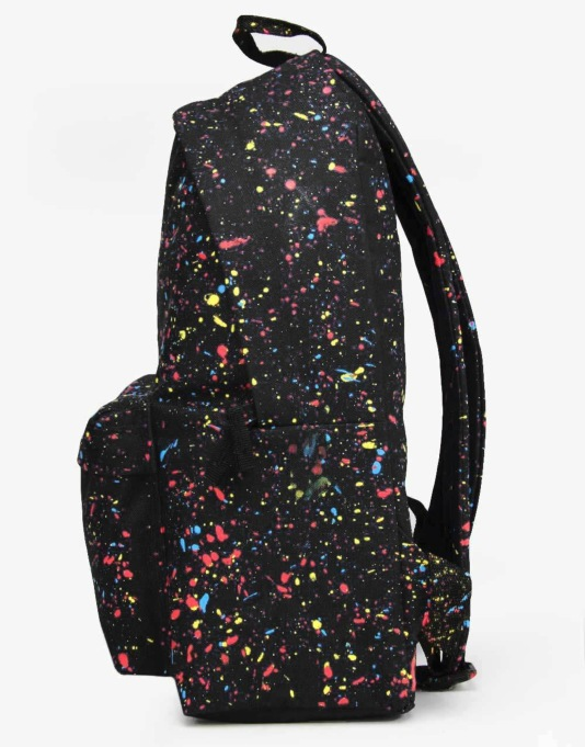 Hype Speckle Backpack - Black Primary