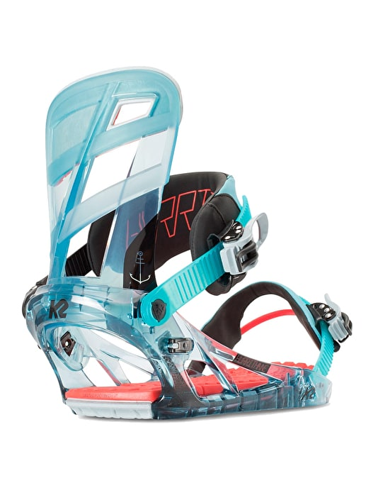 K2 Hurrithane 2016 Snowboard Bindings - Shark