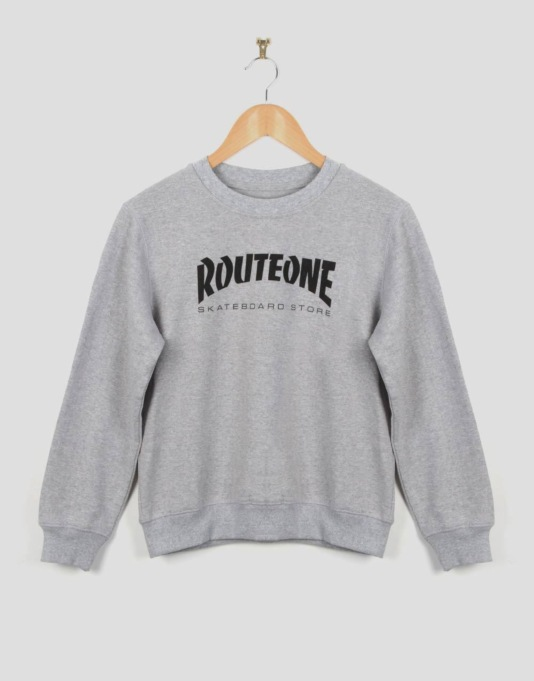 Route One Skate Store Boys Sweatshirt - Grey