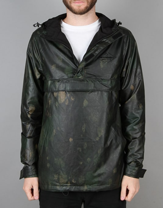 The Hundreds Unmask Windbreaker - Black Grimey
