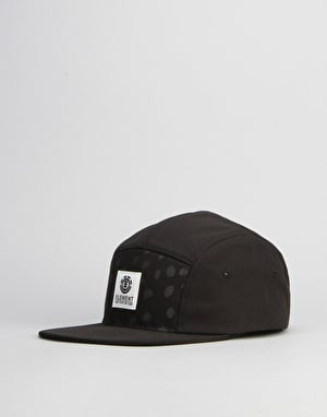 Element Reign Elite 5 Panel Cap - All Black