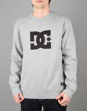 DC Ellis Crew - Heather Grey