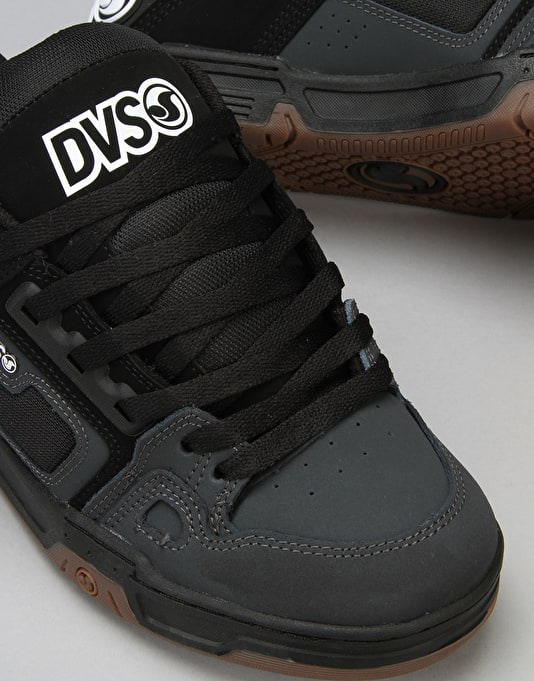 DVS Comanche Skate Shoes - Grey/Black White