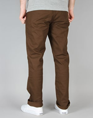 Volcom x Antihero Chinos - Dark Chocolate