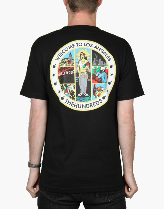 The Hundreds Los Angeles Seal T-Shirt - Black
