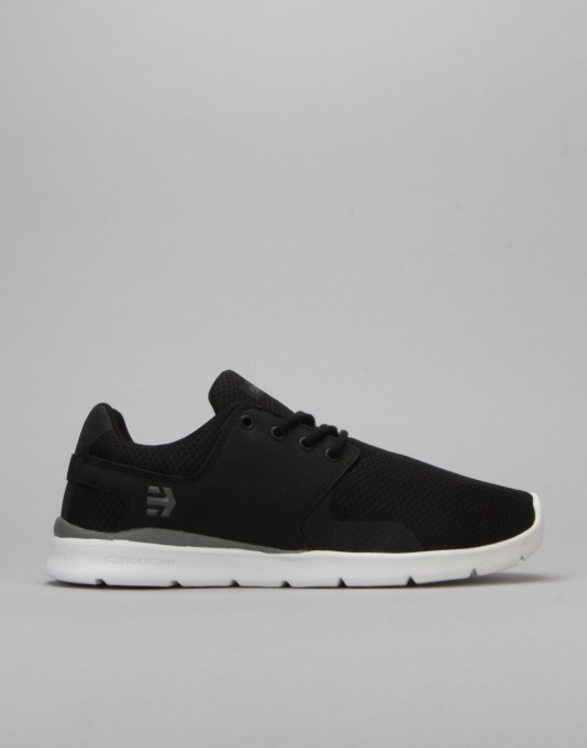 Etnies R1 Exclusive Scout XT Shoes - Black/White/Grey