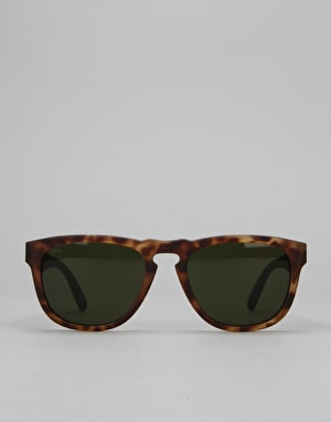 Electric Leadfoot Sunglasses - Matte Spotted Tortoise/Medium Grey