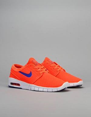 Nike SB Stefan Janoski Max Shoes - Total Crimson/Racer Blue-White