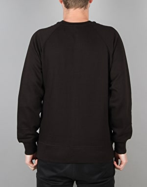 Route One Stamp Sweatshirt - Black