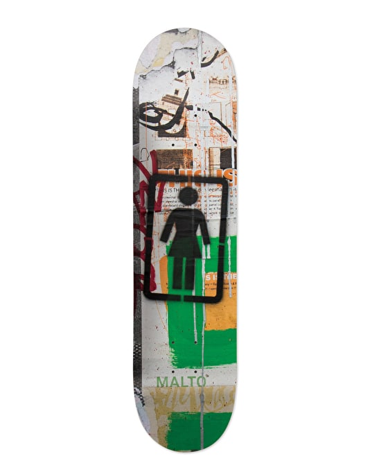 Girl Malto Post No Bills Pro Deck - 8.125""