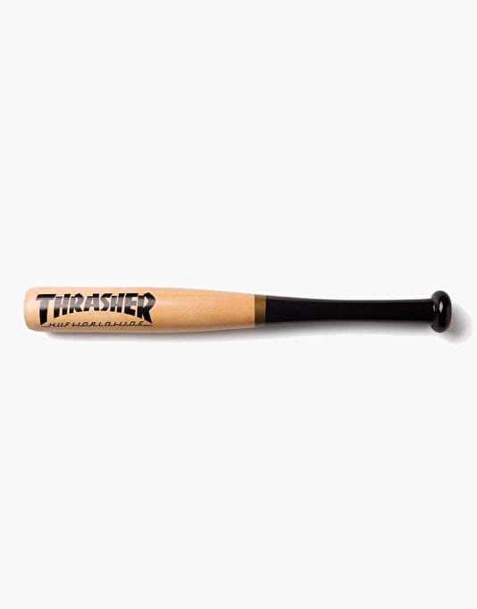 HUF x Thrasher Mini Baseball Bat - Natural