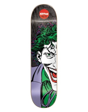 Almost x DC Comics Mullen Joker Split Face Pro Deck - 8.125