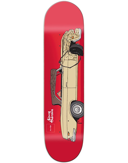 Chocolate Anderson Car Crash Pro Deck - 8.125""