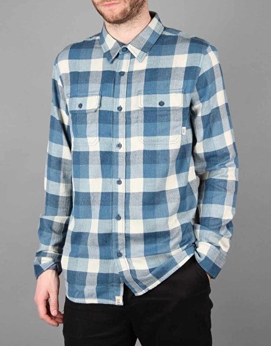 Vans Alameda Shirt - Poseidon/Blue Ashes