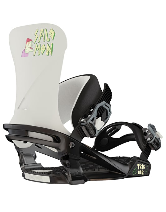 Salomon Trigger 2016 Snowboard Bindings - White