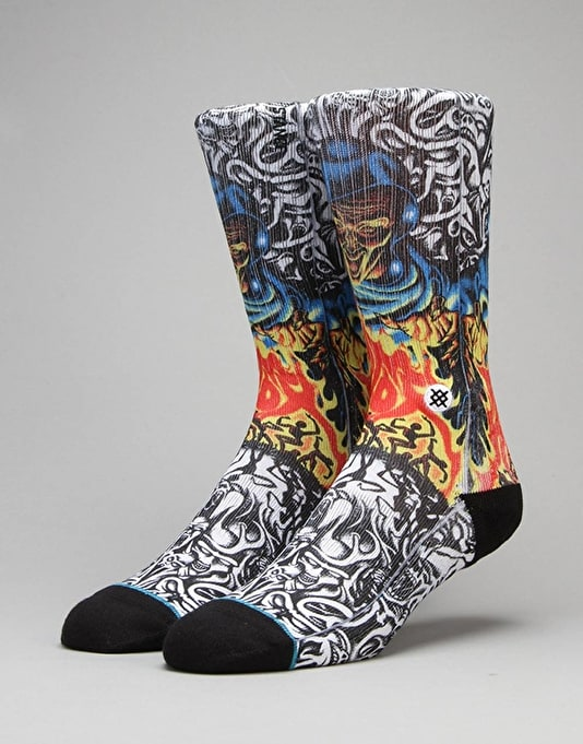 Stance Skate Legends 'Knox' Socks - Black