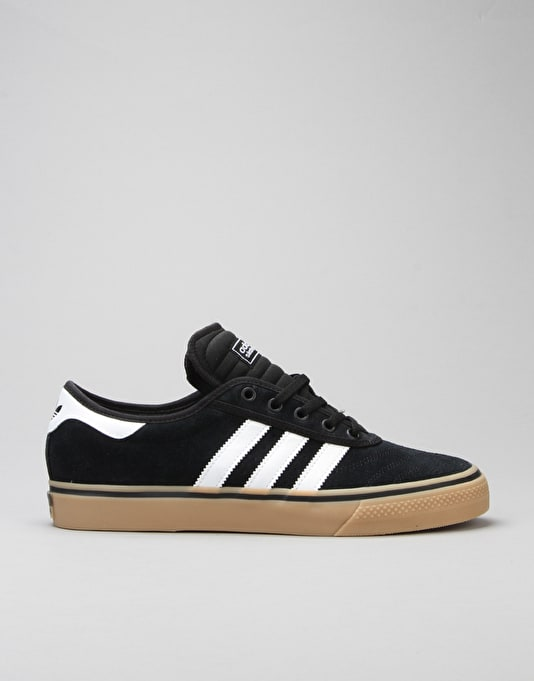 Adidas Adi-Ease Premiere Skate Shoes - Core Black/FTWR White/Gum